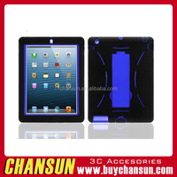 Kickstand robot design pc silicon stand case for ipad pro 12.9