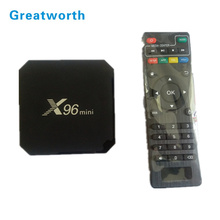 Cheapest price X96 MINI Android 7.1.2 TV Box 1GB 2GB RAM 8GB 16GB ROM Amlogic S905W Kodi 17.4 Smart TV BOX Android 7.0 X96