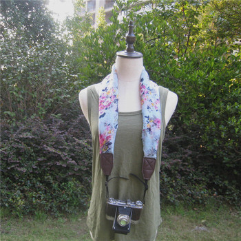 Wholesale Scarf Shawls Scarves Flower Style Neck Shoulder DSLR Camera Strap
