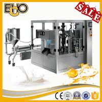 Top rated multifunction premade rotary bag counting stainless full automatic pickled food Carousel type packing machine