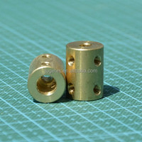 Rigid Coupler 5mm to 8mm L22 in Brass