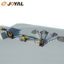 Shanghai Joyal 100 tph Complete stone Crushing Plant for sale price