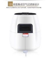 Hot Air Circulation Technology Air Fryers Sell New Model Beef For Christmas Gift Manual Airfryer