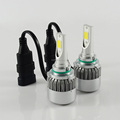 C6 all in one 9005 COB LED headlight kit auto LED bulb 36W 3800LM car headlight CE.ROSH,DOT approved