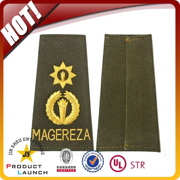 army uniform embroidered epaulettes & security epaulette