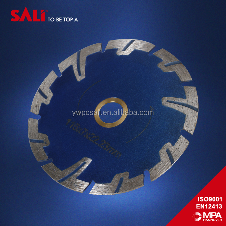 "10mm segment size 7""diamond rim saw blade for concrete"