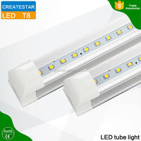 High brigtness hot sale 9w 12w 18W t8 t5 Led Tube light with 3 year warranty