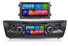 Double screen car dvd gps for MG6 2012