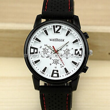 2014 cute fashion watch silicone men and women sports watch
