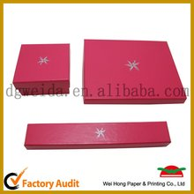 Fashion Paper Jewelry Box wholesale