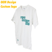 Hot Selling Cheap Spendex Digital print USA size 160g White color Outdoor Team Tee shirt for Company