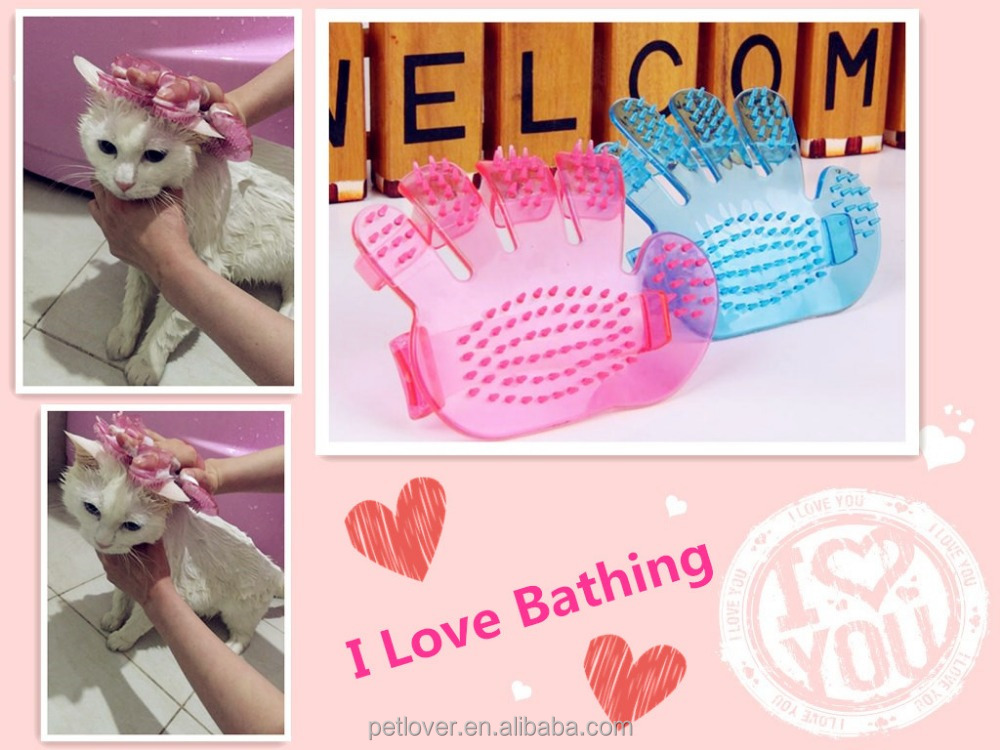 Hand Palm Shaped Kitten Grooming Hair Glove