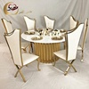 Round mdf top tables dining wedding for events banquet
