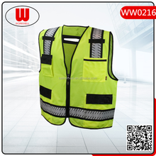 high visibility protective warning security vest