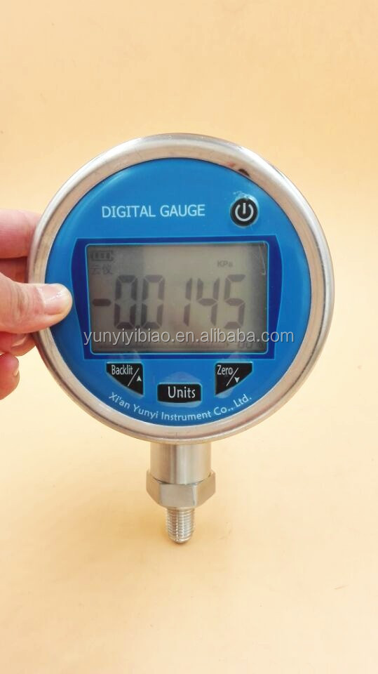 Wholesale Price digital pressure gauge with LCD disply