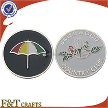 Kuwait souvenir custom designed metal coin die for wedding gifts