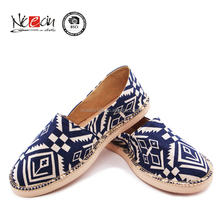 Custom Blank Printing screen printed canvas shoes Women