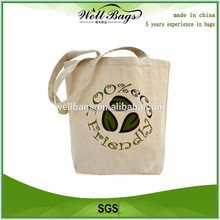 promotional cheap printed cotton road bag , canvas shopping for gift