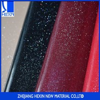 Special metallic under-glass effect pu paint synthetic leather for Handbag Bag Shoes