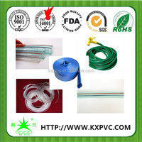 Factory direct supply high quality and flexible food grade pvc tube 8 free