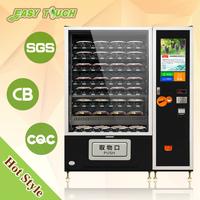 Belt convery Fresh fruit&salad/vegetables/lunch box vending machineVegetables/apples/orange mini mart vending machine