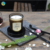 painted black glass candle containers yufeng craft