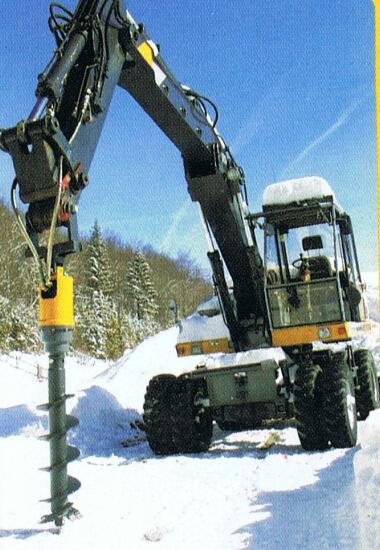Hydraulic auger for backhoe buy hydraulic auger for for Hydraulic auger motor for sale