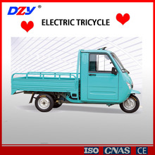 hot sale semi-closed electric tricycle