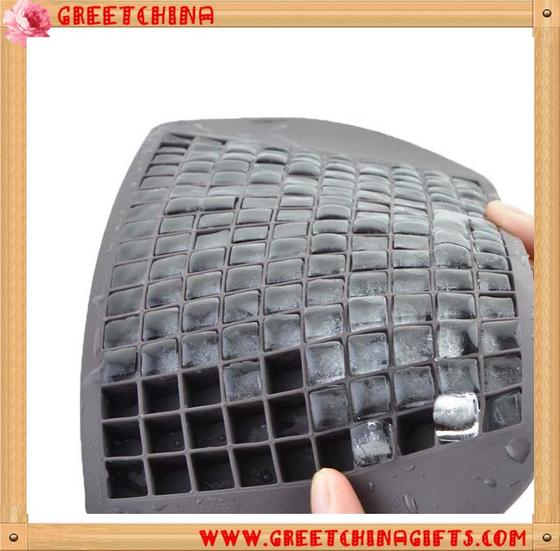 Promotional 160 Blocks of small ice cube silicone maker tray