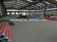 Fabric reinforced rubber hose with steel wire reinforcement