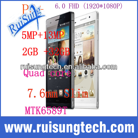 Star Ulefone U600 P6+ Smartphoen Quad Core MTK6589T 1.5GHz Android 4.2 OS 2GB RAM 32GB ROM 6.0 Inch IPS 1920*1080P 13.0MP Camera