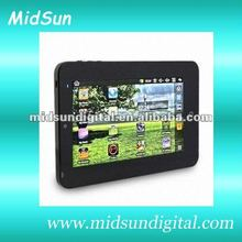 7 inch tablet pc boxchip a13 Android 4.0 os, 5 points Capacitive, 4GB/512M,3G WiFi,Camera Freeshipping