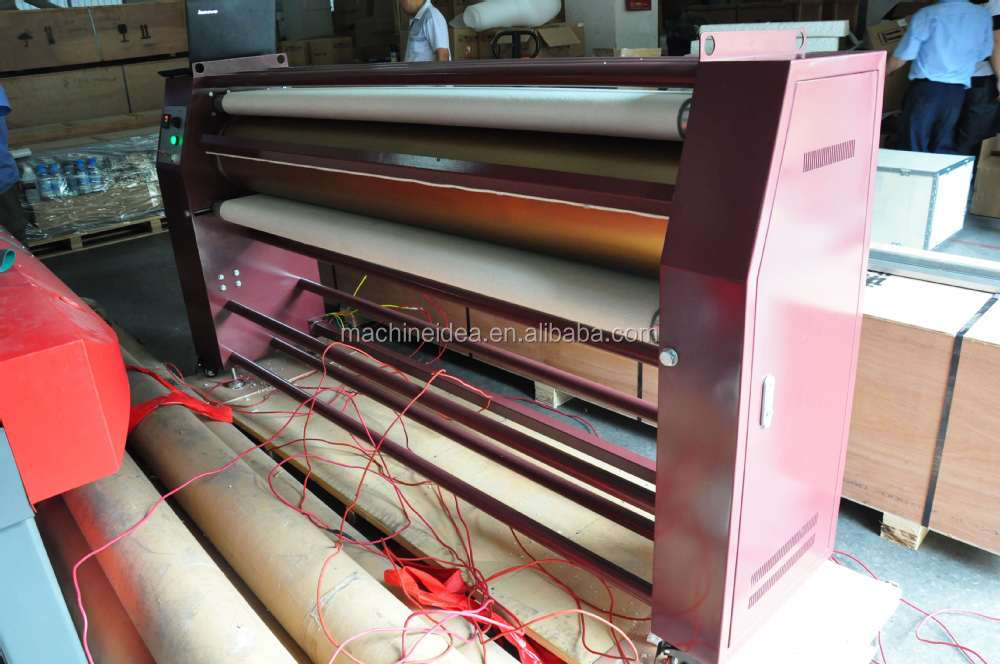 guangzhou supplier 1.7m roll to roll heat transfer machine