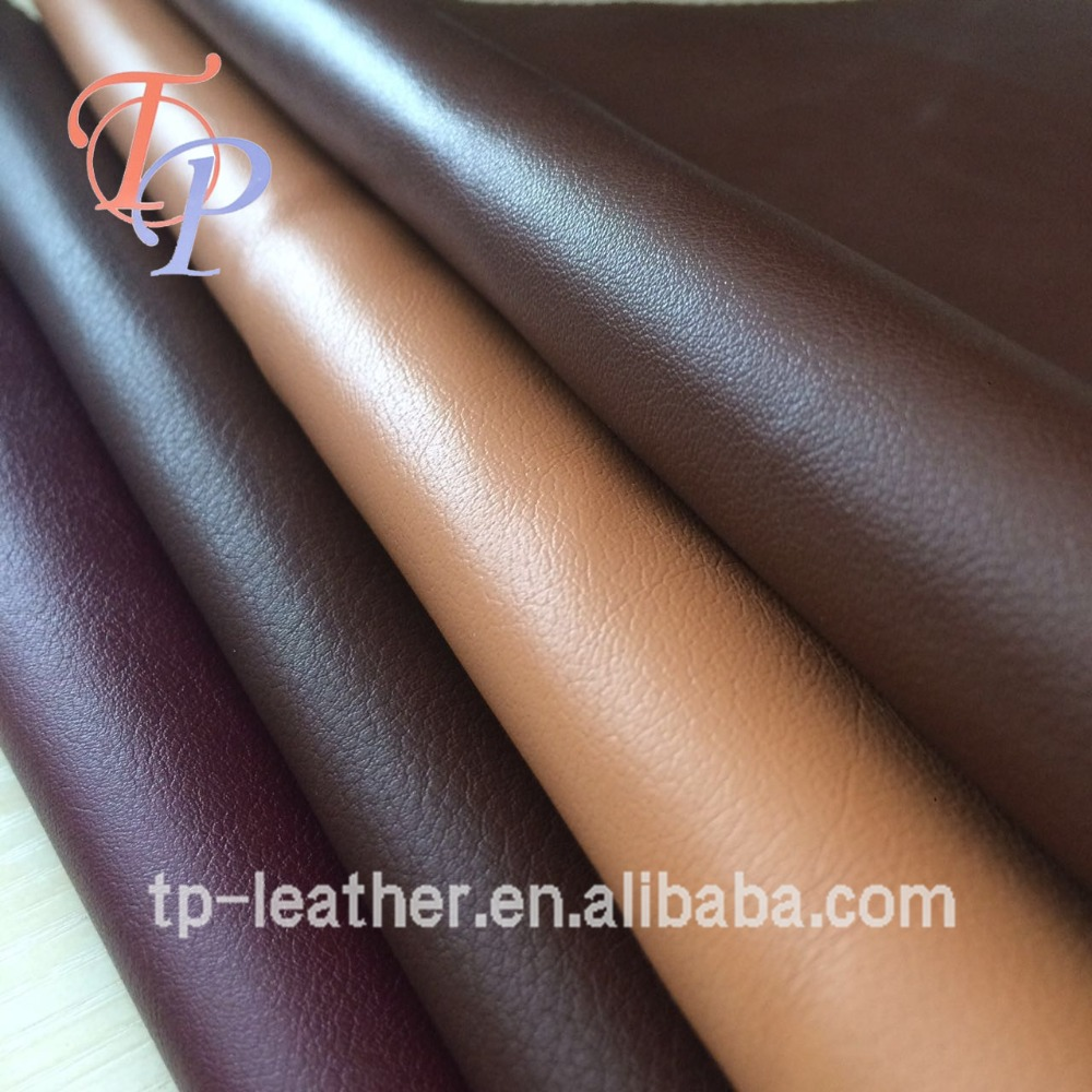 China Supplier Artificial PU Leather for Making Sofa