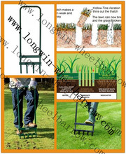 Lawn Aerator GARDEN TOOLS. LONG HANDLED