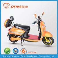 EEC en15194 electric scooter bike / electric motorized bicycle with hub brushless motor
