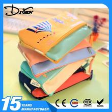 Wholesale bsci sedex pillar 4 really factory for school customized linen kids pencil bag with great price