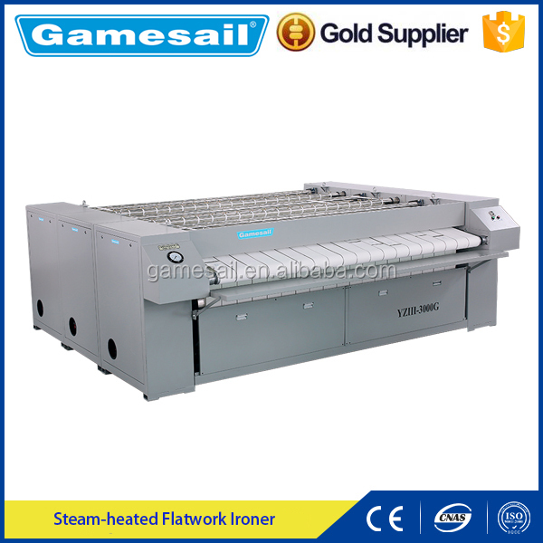 Gamesail 2016 Best Quality industrial laundry ghd flat ironer equipment with competitive price