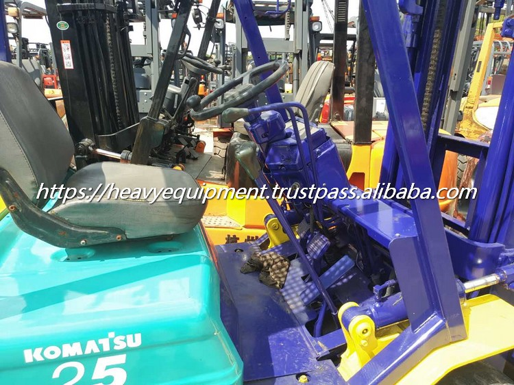 Low price used manual forklift used 2.5 ton forklift for sale
