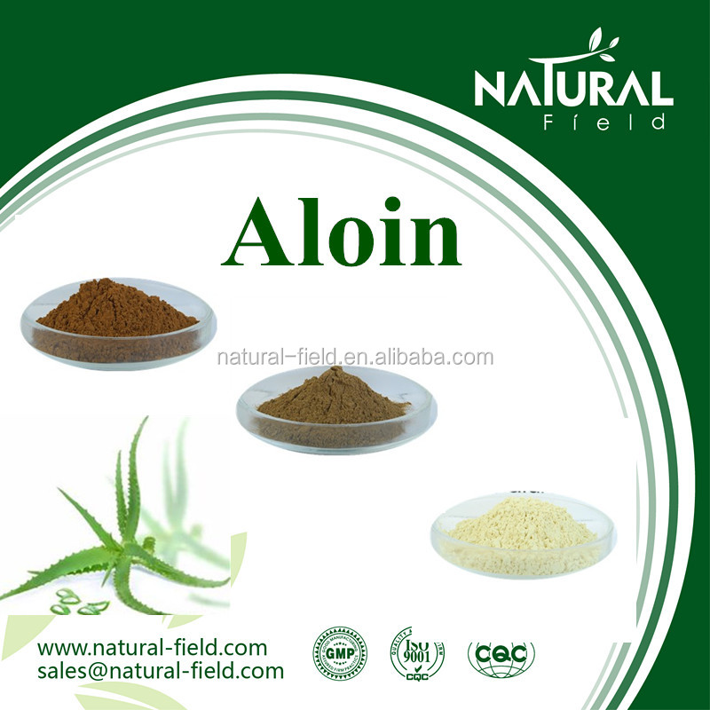 Herbal plant aloe vera powdered extract wholesale aloin barbaloin