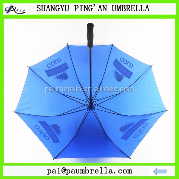 30 inch customized made cheap good quality promotional and branded golf umbrella
