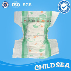 factory high quality cute thick diapers for baby