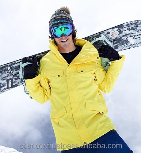 2014/2015 High quality waterproof 20000mm snowboard jacket, STL Beat Lemon