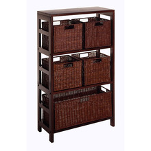 Cheap Home indoor furniture wooden storage cabinet with shelf