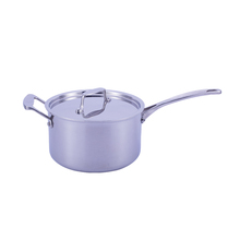 Reasonable Price Professional Design 304 stainless steel saucepan shallow milk boiling pot