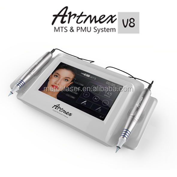 Artmex V8 permanent make up machine/ permanent makeup needles/ permanent make up pigment for eyebrows