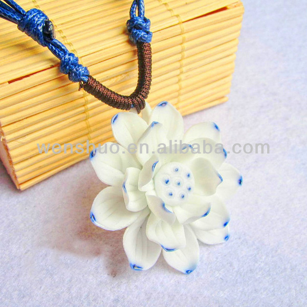 Hot Sell Flower Necklace Terracotta Jewellery