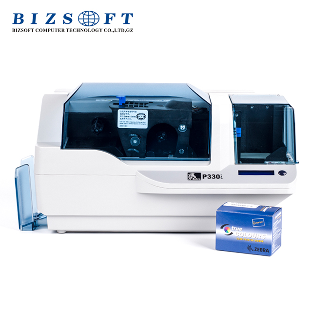 Bizosft Id card printer Zebra P330i Desktop Printer zebra Card Printer