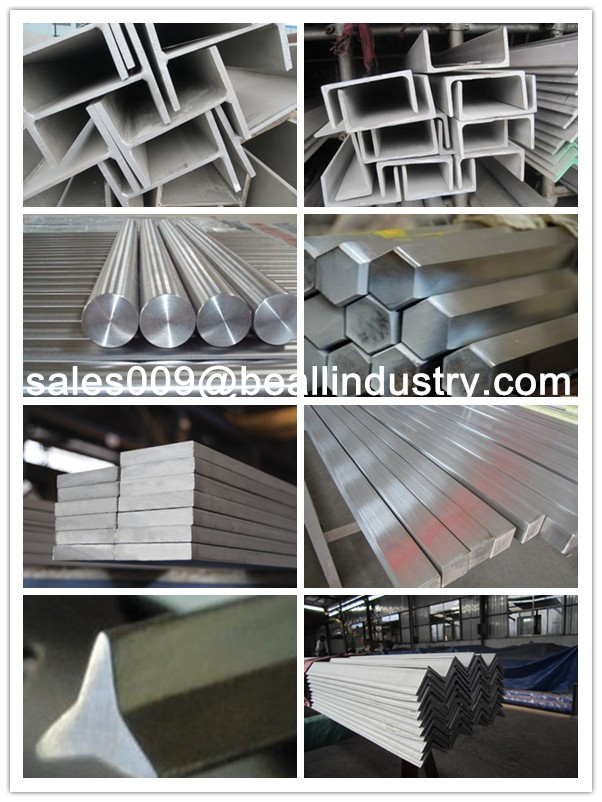 AISI 304 316 316L 321 310S 410 430 Stainless Steel Round/Square/Angle/Flat/Hex/Triangle/Channel Bar/Rod/Beam Manufacturer