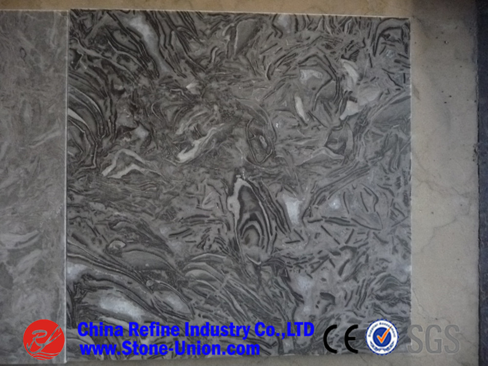China overload flower marble for flooring tile